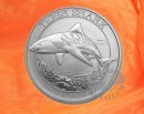 1/2 oz. Tiger Shark silver coin Australia 2016