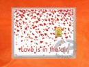1 g gold gift bar flip motif: Love is in the air