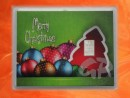 1 g silver gift bar motif: Merry Christmas