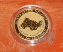 1 oz.  Australian Nugget - Welcome Stranger 1869 -  gold...