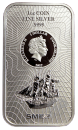 1 oz. Bounty silver coinbar Cook Islands 2017 new design