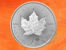 1 oz. Incuse Maple Leaf silver coin Canada 2018