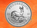 1 oz. Krugerrand silver coin South Africa 2018