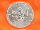 1 oz. Maple Leaf silver coin Canada
