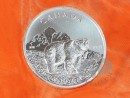 1 oz. Canadian Wildlife Grizzly silver coin Canada 2011