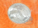 10 DM silver coins Germany at 15.5 g with purity 625/1000, fine weight: 9.6875 g, high face value of 10 German Marks = 5.11 EURO
