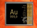 10 g gold gift bar Au international