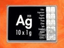 10 g silver gift bar Ag international
