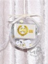 2 g gold gift bar 50 years birthday golden wedding in...