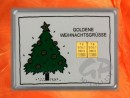 2 g gold gift bar motif: Goldene Weihnachten Christmas tree