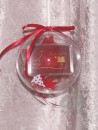2 g gold gift bar motif: Weihnachten Frohes Fest red star...