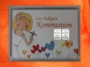 2 g silver gift bar motif Kommunion girl