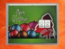 2 g silver gift bar motif: Merry Christmas