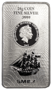 20 grams Bounty silver coinbar Cook Islands 2017 new design