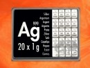20 g silver gift bar Ag international