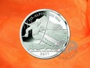 Roll: 25 x 10 EURO Alpine Ski World Cup 2011 2010 silver coin Germany, weight: 18 g, purity: 925/1000, fine weight: 16,65 g