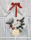 Christmas door decoration handmade decorated cooper &...