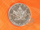 1 Unze Maple Leaf Platinmünze Kanada