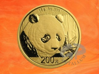 15 g China Panda gold coin 2018