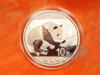 30 g China Panda Silbermünze 2016