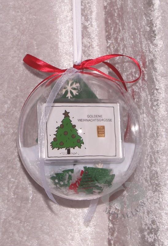 1 gramm gold geschenkbarren goldene weihnachten weihnachtsbaum in dek - Dekorierter weihnachtsbaum ...