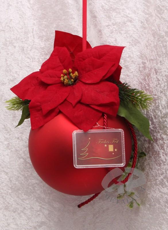 1 gramm goldbarren weihnachten frohes fest mit weihnachtskugel matt r - Weihnachtskugel englisch ...