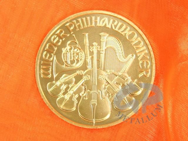 1 Unze Wiener Philharmoniker Goldmünze österreich 114852