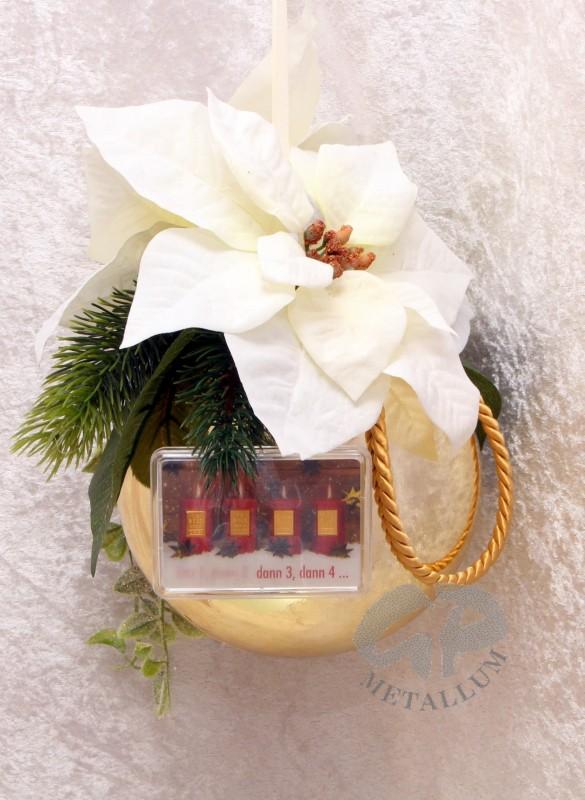 4 gramm goldbarren weihnachten 4 kerzen mit weihnachtskugel gl n - Weihnachtskugel englisch ...