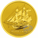 1/10 oz. Bounty gold coin Cook Islands 2020
