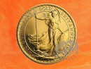 1/10 oz. gold coin Britannia 1991