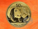 1/10 oz. China Panda gold coin 2011