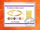 1/10 oz. gold gift bar motif: Firmung