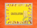 1/10 oz. gold gift bar flip motif:Gratulation Geschafft
