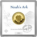 1 gram Noah´s Ark gold coin Armenia 2020