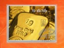 1 g gold gift bar flip motif: For all cases Bars