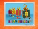 1 g gold gift bar flipmotif: Happy birthday gift