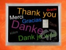 1 g silver gift bar motif: Thank you