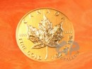 1 oz. Maple Leaf gold coin Canada