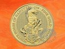 1 oz. Queen`s Beasts White Horse of Hanover gold coin...
