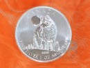 1 oz. Canadian Wildlife Wolve silver coin Canada 2011