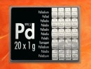 20 Gramm Palladium Geschenkbarren Pd international