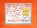 4 g gold gift bar flip motif: Love is in the air