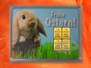 1 g gold gift bar motif: Frohe Ostern