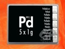 5 Gramm Palladium Geschenkbarren Pd international