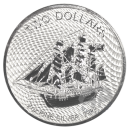 2 oz. Bounty silver coin Cook Islands 2020