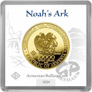 1/4 oz. Noah´s Ark gold coin Armenia 2020