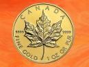 1 Unze Maple Leaf Goldmünze Kanada