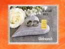 1/10 Unze Gold Geschenkbarren Flipmotiv: Hochzeit Ringe Herz