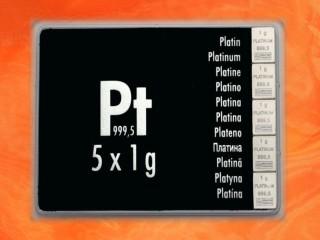 5 g Platinum gift bar Pt international