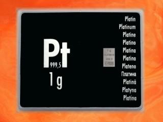 1 g Platinum gift bar Pt international
